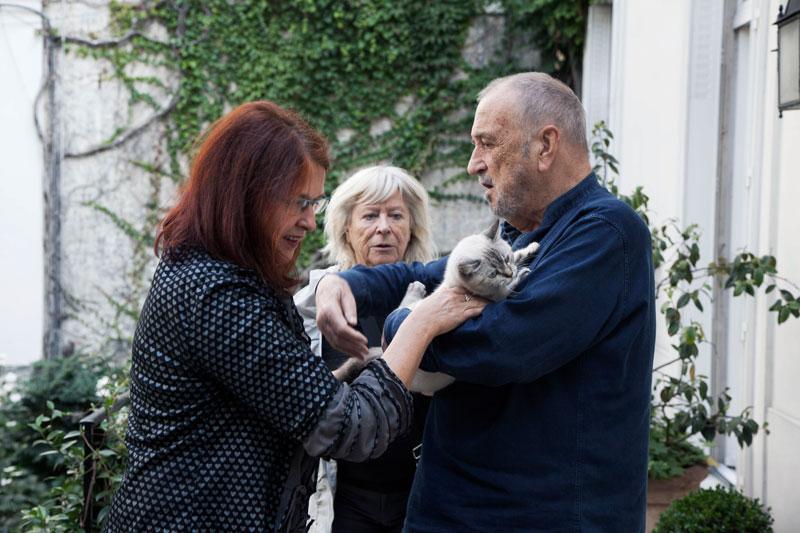 JCC, Margarethe von Trotta a Tereza Brdečková v Paříži, 2014